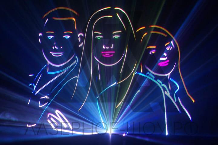 лазерное шоу на корпоратив