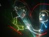 лазерное шоу на свадьбу в спб