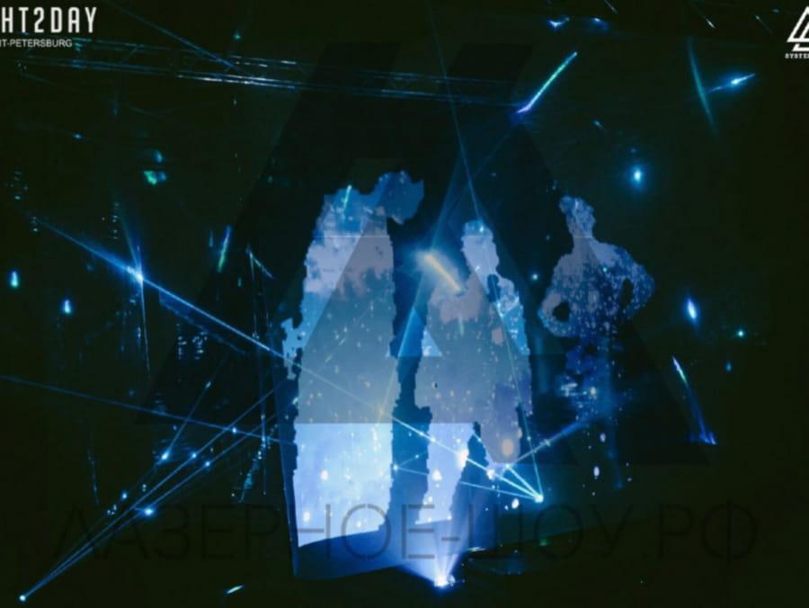 световая инсталляция 4